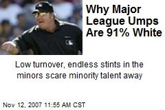 Why Major League Umps Are 91% White
