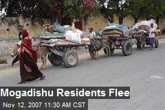 Mogadishu Residents Flee