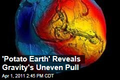 Goce Satellite Image Shows 'Potato Earth': Gravity's Uneven Pull