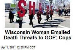 Wisconsin Woman Charged With Emailng Death Threats to GOP Lawmakers