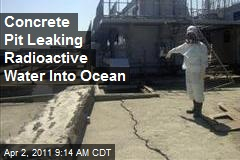Concrete Pit Leaking Radiation at Japan Plant