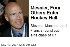 Messier, Four Others Enter Hockey Hall