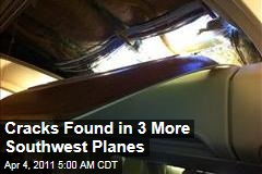 Southwest Finds Cracks in 3 More Boeing 737-300s After Hole Causes Emergency Landing