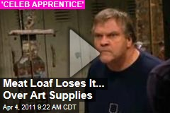 Meat Loaf Loses It ... Over Art Supplies ('Celebrity Apprentice' Video)