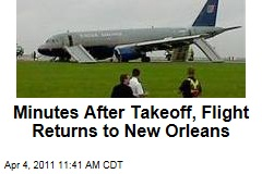 Minutes After Takeoff, United Flight 497 Returns to New Orleans