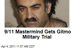 Khalid Sheikh Mohammad Gets Guantanamo Military Commission