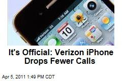 Verizon iPhone Drops Fewer Calls Than AT&T's: Study