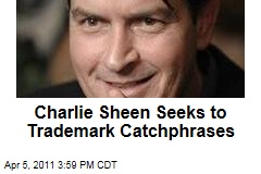 Charlie Sheen Seeks Trademarks for Catchphrases Like 'Duh, Winning,' 'Tiger Blood,' 'Adonis DNA'