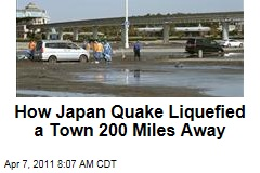 Japan Earthquake Liquefied Urayasu, 200 Miles Away