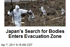 Japan's Search for Bodies Enters Evacuation Zone