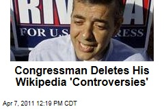 David Rivera Staffer Deletes His 'Controversies' From Wikipedia Entry