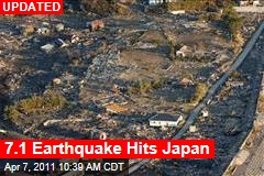 Japan Earthquake: 7.4-Magnitude Quake Hits Japan