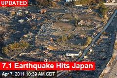 Japan Earthquake: 7.4-Magnitude Quake Hits Japan
