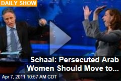 Daily Show Video: Kristen Schaal Has a Solution for Persecuted Middle East Women