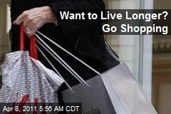Study Links Shopping to Longer Lives