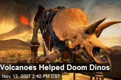 Volcanoes Helped Doom Dinos