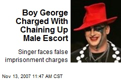Boy George Charged With Chaining Up Male Escort