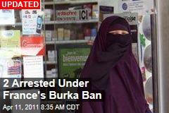 Burka Ban Begins Today in France