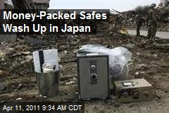 Money-Packed Safes Wash Up in Japan