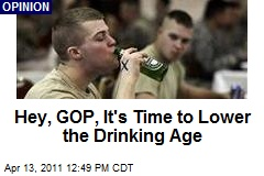 Hey, GOP, It's Time to Lower the Drinking Age
