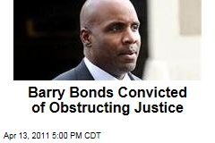 Barry Bonds Trial: He's Guilty of Obstructing Justice; Jury Hangs on Other Counts