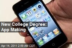College Launches 'App Making' Degree