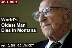 Walter Breuning, World's Oldest Man, Dies in Montana