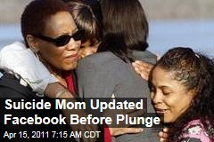 Suicide Mom Lashanda Armstrong Updated Her Facebook Status Before Plunge