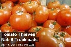 Tomato Thieves Nab 6 Truckloads