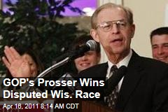 David Prosser Wins Wisconsin Supreme Court Race; JoAnne Kloppenburg May Demand Recount