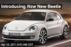 Volkswagen Introduces New 2012 Beetle