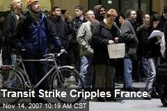 Transit Strike Cripples France