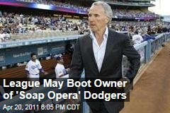Major League Baseball Takes Control of Finances of Los Angeles Dodgers From Owner Frank McCourt