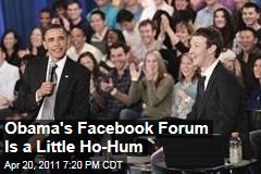 President Obama, Mark Zuckerberg Team Up for Town Hall Meeting at Facebook Headquarters