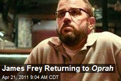 James Frey Returning to Oprah