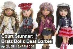 MGA's Bratz Beat Mattel's Barbie in Court