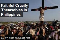 Faithful Crucify Themselves in Philippines