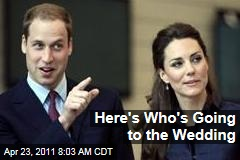 Royal Wedding: Prince William, Kate Middleton Release Guest List
