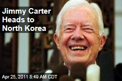 Former President Jimmy Carter Heads to North Korea for Talks
