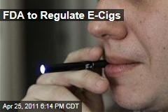 E-Cigarettes: FDA Says It Will Regulate Smokeless Smokes