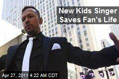 New Kids Singer Finds New Kidney for Fan