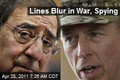 Lines Blur in War, Spying