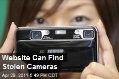 Website Can Find Stolen Cameras