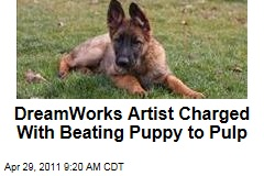 DreamWorks Animator Young Song Charged With Beating Puppy to Pulp