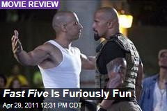 'Fast Five' Film Reviews: Latest 'The Fast and The Furious' Sequel Furiously Fun