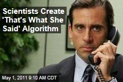'That's What She Said' Algorithm Created After Steve Carell's Departure From 'the Office'
