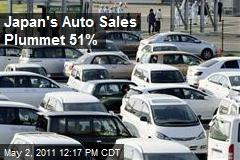 Japan's Auto Sales Plummet 51%