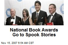 National Book Awards Go to Spook Stories