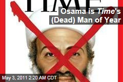 Osama bin Laden is Time's Dead Man of the Year