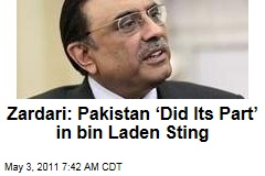 In Osama bin Laden Operation, 'Pakistan Did Its Part,' Insists Asif Ali Zardari in Washington Post Op-Ed